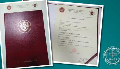 Врач с Украины успешно нострифицировал свой диплом в Польше и сдал нострификационный екзамен з первого раза!